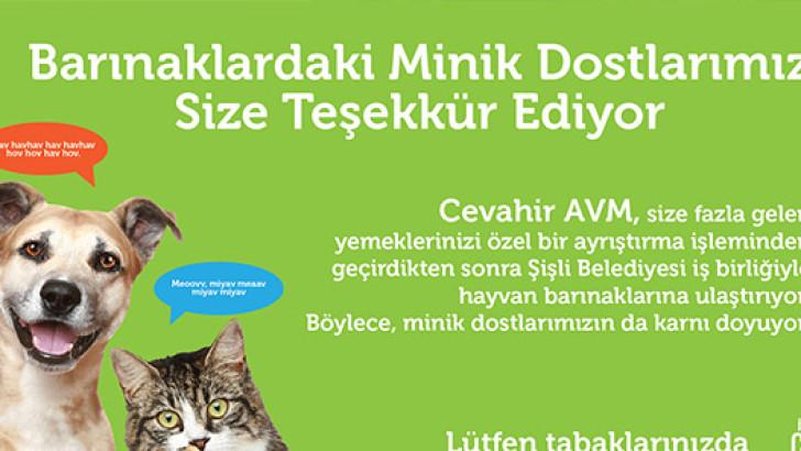 Cevahir AVM'den UNICEF'e Destek 79