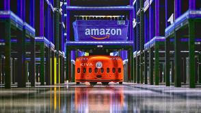 Amazon'un robot ordusu göz kamaştırdı (VİDEO)