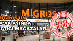 Migros, Ocak ayında kaç mağaza açtı?