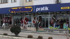 Ege'nin ilk Praktiker Pratik mağazası Datça'da açıldı