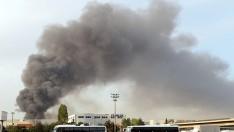 İstanbul'da kağıt deposunda yangın