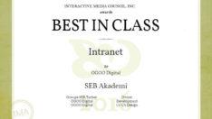 SEB Akademi'ye uluslararası ödül
