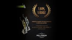 Palladium Ataşehir'e Marcom'dan 5 Ödül !