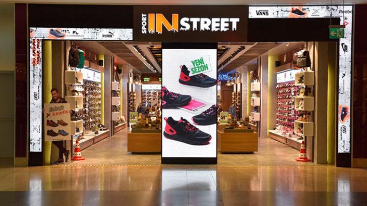 Sport in Street'in 46. mağazası Konya M1 Alışveriş Merkezi'nde açıldı