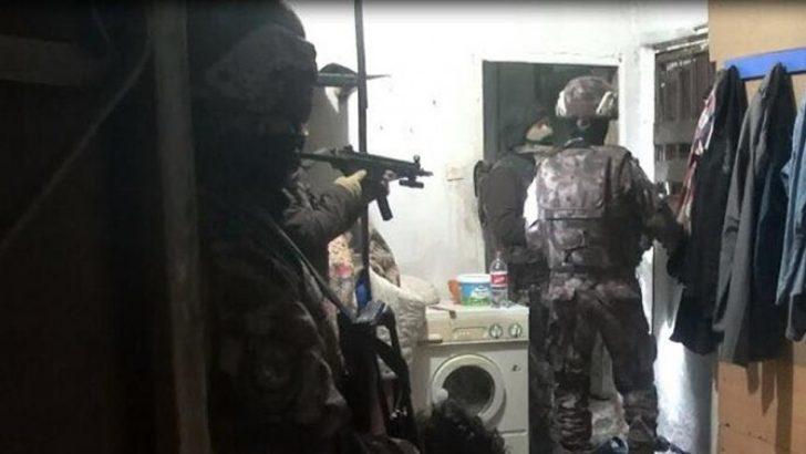 Bursa'da terör operasyonu: 10 gözaltı
