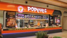 Popoyes restaurant sayısını 200'e çıkardı