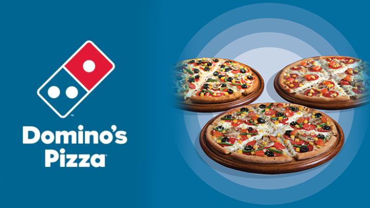 Sonbahar siparişleri Domino's Pizza'dan