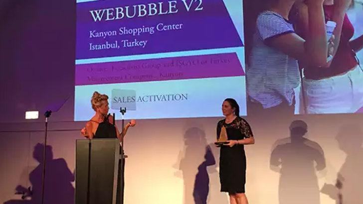 Kanyon'a Solal Marketing Awards'tan ödül