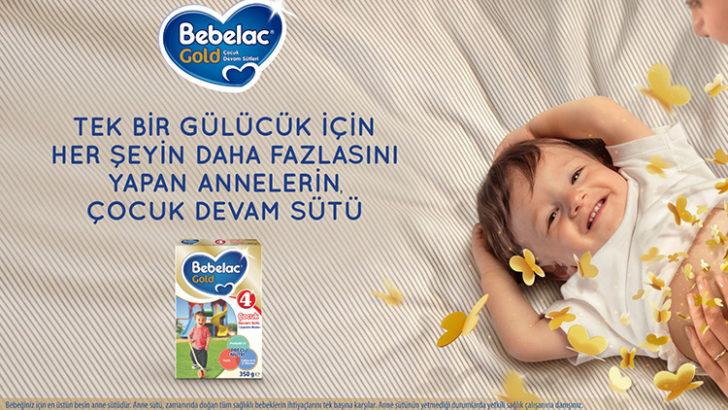 Bebelac Gold Çocuk Devam Sütü'nden Yeni Reklam Kampanyası