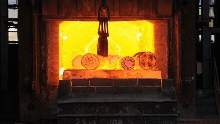 Türkiye çelik üretiminde 8'inci sırada