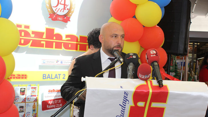 Özhan Market'in  44. Mağazası Balat2  hizmete başladı