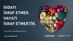 Grundig'den Dünya Gıda Günü Manifestosu: 'Boşa Giden Gıda, Boşa Giden Hayattır'