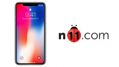 iPhone X n11.com'da satışta
