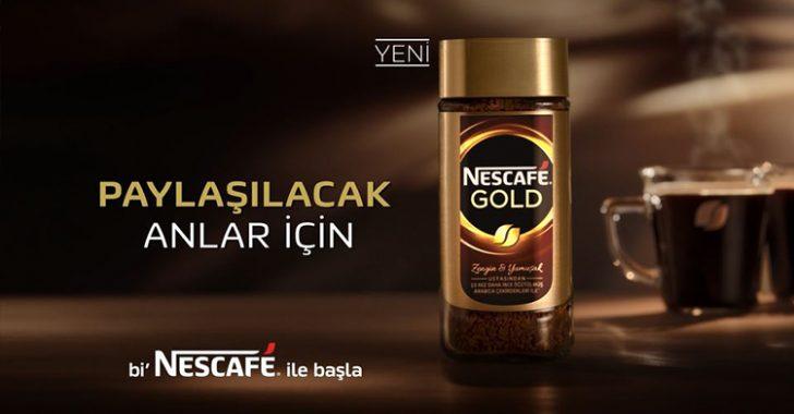 "Yeni Nescafe Gold, daha ""Zengin"", daha ""Gold"""