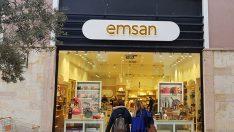 Emsan ilk mağazasını Viaport Avm'de açtı