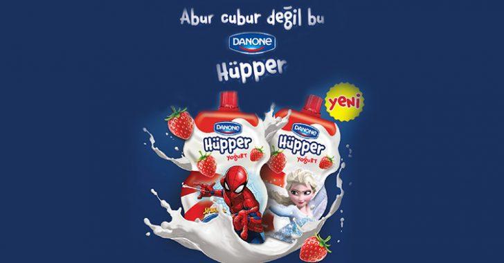 """Danone """"Hüpper"""" yoğurt yenilikçi paketiyle meyveli çocuk yoğurdu pazarında bir ilk"""