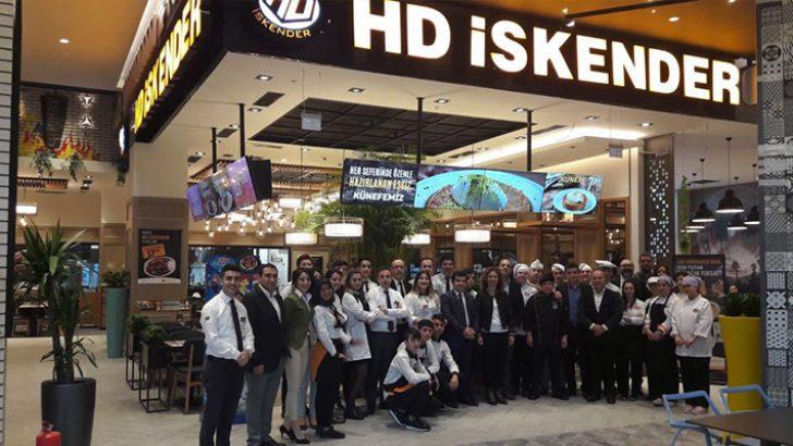 HD İskender ve HD Döner, Maltepe Piazza AVM'de
