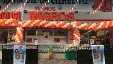 Migros 81 ile ulaştı, tüm Türkiye'yi kucakladı