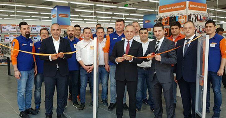 Teknosa, son mağazasını 39 Burda AVM'de açtı