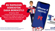 Sodexo iPhone X hediye ediyor