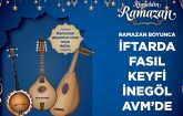 İnegöl AVM'den Ramazan Ayına Özel Etkinlikler