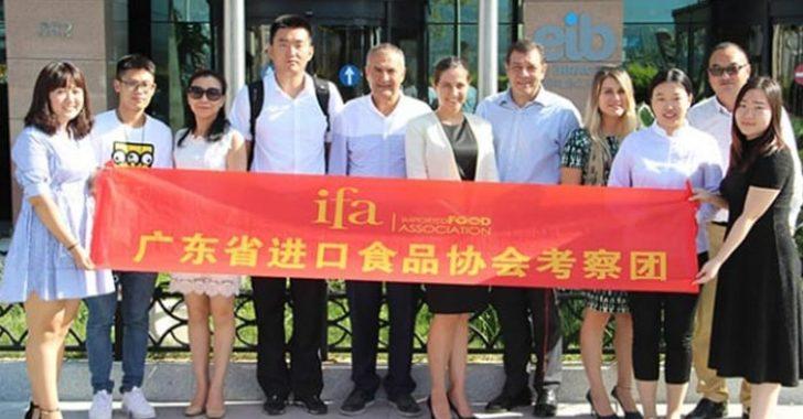Çinli Gıda İthalatçıları Türk Lezzetlerini İthal Etmek İçin Türkiye'ye Geldi