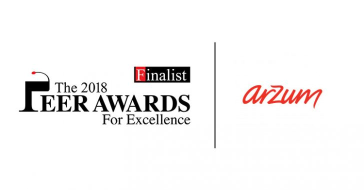 The Peer Awards For Excellence'ta Tek Türk Finalist Arzum Oldu