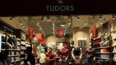Tudors, yurt dışındaki 41. mağazasını Sofya'da açtı