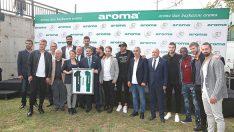 Aroma 50. yılında, Bursaspor oyuncuları ile geleneksel piknikte bir araya geldi
