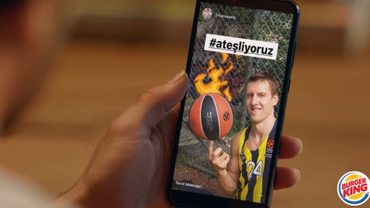 Euroleague'i Burger King ateşi sardı