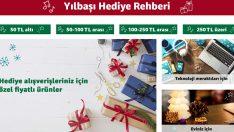 Amazon.com.tr yılbaşı hediye alışverişini kolaylaştırıyor