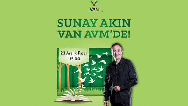 Sunay Akın VAN AVM'de sevenleriyle buluşacak