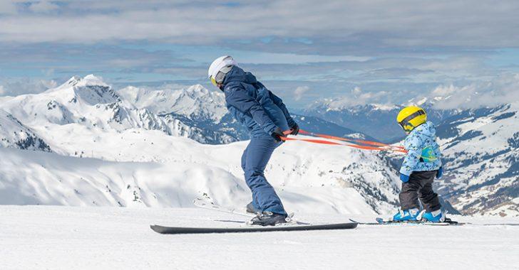 Decathlon'dan çocukların kayak öğrenmesi için yenilikçi bir ürün: Wed'ze Skiwiz kayak kemeri