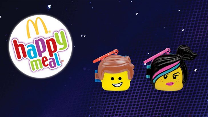 McDonald's'tan Yepyeni Bir Macera: Lego Filmi 2, Happy Meal Oyuncaklarında