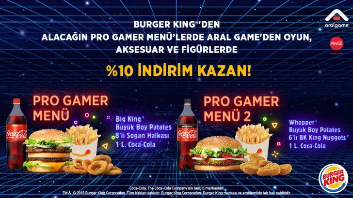 Burger King®'den Gamerlara, Kampanya Gibi Kampanya