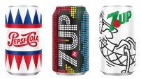 Pepsi ve 7UP Retro Tasarım Kutuları Satışa Sunuldu