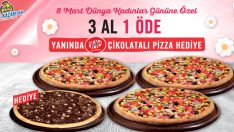Domino's Pizza'dan kadınlara en tatlı armağan