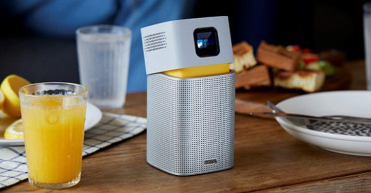 BenQ Kablosuz Taşınabilir LED Projektörle Eğlence Dilediğiniz Yerde Sizinle