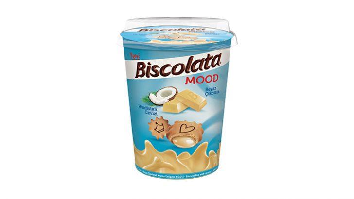 Biscolata Mood hindistan cevizli ile anı lezzetlendir