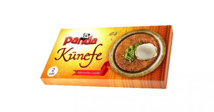 Türkiye'nin ilk dondurma markası Panda'dan şimdi de Hazır Künefe