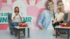 Pınar Altuğ ve Öykü Serter Marmara Park AVM'de Kadınlar ile Buluştu