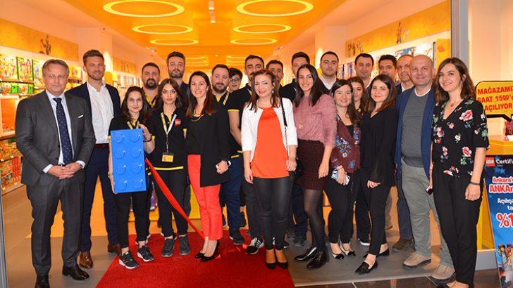 Ankara'nın ilk Lego® Store'u açıldı