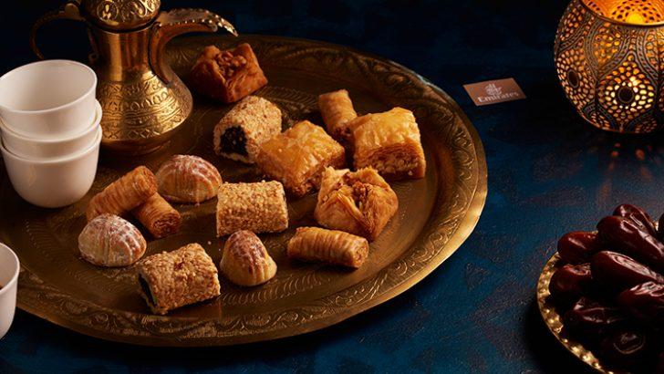 Emirates'ten Ramazan'a Özel İkram Menüsü