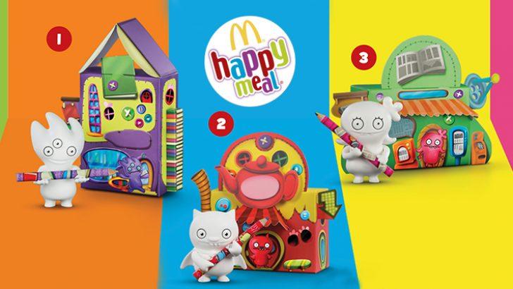 Uglydolls oyuncakları Happy Meal menülerinde