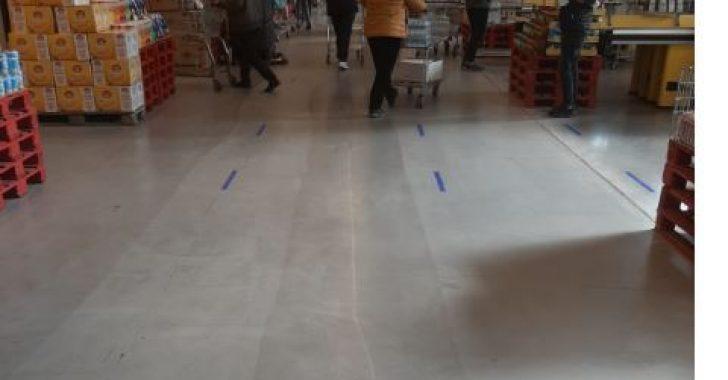 Metro Türkiye, mağazalarında Sosyal Mesafe önlemi